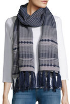Vince Camuto Geometric Knit Wrap
