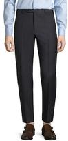 Zanella Parker Birdseye Flat Front Trousers