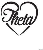 Dormify Kappa Alpha Theta Heart Print