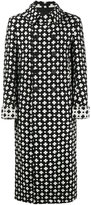 Haider Ackermann Villa cross-pattern coat