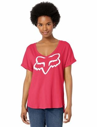 Fox Junior's Responded Short V-Neck ROLL Sleeve T-Shirt