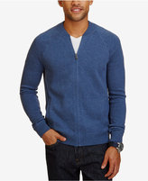 Nautica Men's Full-Zip Bomber Sweater-Jacket