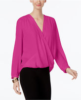 INC International Concepts Petite Surplice Top, Only at Macy's
