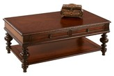 Progressive Mountain Manor Coffee Table with Casters - Heritage Cherry Furniture