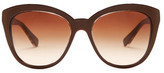 Dolce & Gabbana Women's Cat Eye Acetate Frame Sunglasses