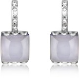 Tagliamonte Mia & Beverly Chalcedony and Diamond 18K White Gold Earrings