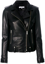 IRO biker jacket - women - Lamb Skin/Acetate - 38