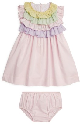 Il Gufo Ruffle Dress and Bloomers (3 Months-4 Years)