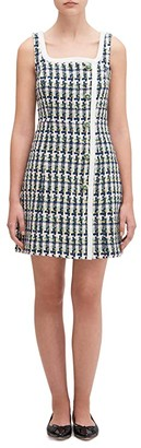 Kate Spade Pop Tweed Dress (Juniper) Women's Dress