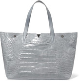 Vince Croc-effect leather tote