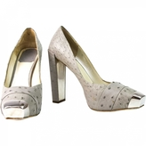 Christian Dior Grey Exotic leathers Heels