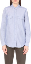 The Kooples Patch pocket cotton shirt