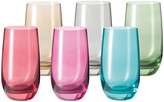 Leonardo Sora Tall Tumbler - Assorted - Set of 6