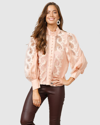 Ministry Of Style Victoriana Lace Blouse