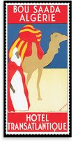 Bed Bath & Beyond Algeria Vintage Travel Printed Canvas Wall Art