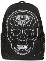 Philipp Plein Studded Bone Backpack