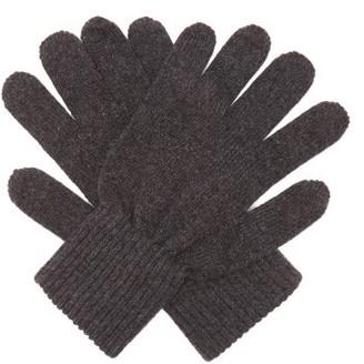 A.P.C. Tim Wool-blend Gloves - Grey