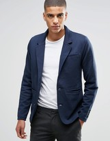 Selected Sweat Blazer in Gray