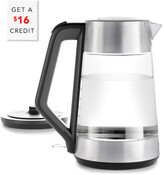 OXO On Clarity Cordless Glass Electric Kettle