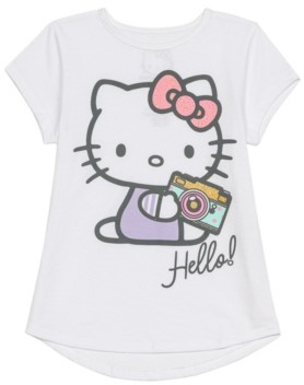 Disney Little Girls Hello Kitty Camera Tee