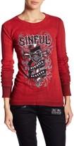 Sinful Eloise Long Sleeve Thermal Shirt