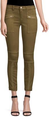 Joie Hazina Studded Skinny Ankle Pants