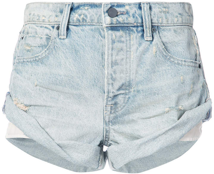 Alexander Wang vintage-style rolled shorts