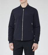 Reiss Cherry Zip Bomber Jacket