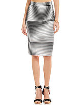 Roxy Call Up In Dreams Striped Midi Skirt