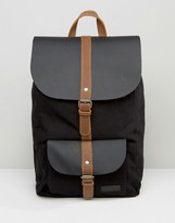 Forbes & Lewis Leather Lincoln Backpack In Black