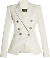 Balmain Six-button double-breasted wool blazer