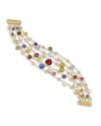 Marco Bicego Paradise 5-Strand Engraved Bracelet