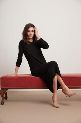 Velvet by Graham & Spencer FARAH COZY RIB LONG SLEEVE DRESS