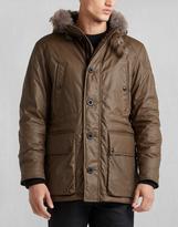 Belstaff Pathfinder Jacket With Fur Windsor Moss