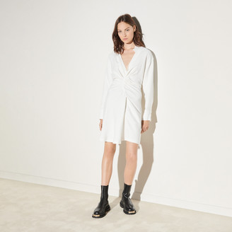Sandro Long-sleeved short dress