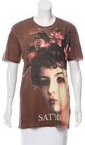 Dolce & Gabbana Satyricon Screen Print T-Shirt w/ Tags