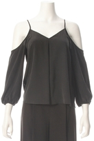 Joie Eclipse Cold Shoulder Blouse