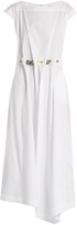 Loewe Balls and Chains cotton midi dress