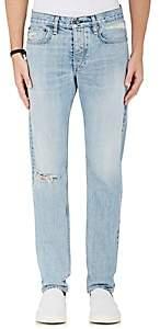 Rag & Bone Men's Fit 2 Distressed Slim Jeans - Blue