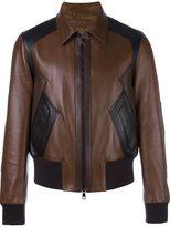 Neil Barrett zipped sheepskin jacket - men - Sheep Skin/Shearling/Cupro - L