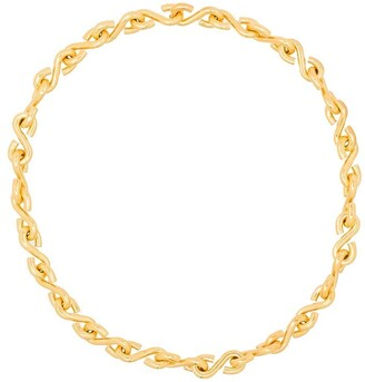 All Blues S-link chain necklace