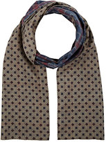 Barneys New York MEN'S REVERSIBLE WOOL SCARF