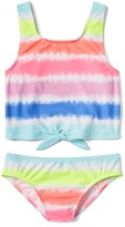 Gap Tie-dye tank swim two-piece