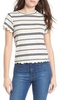 BP Women's Stripe Merrow Hem Tee