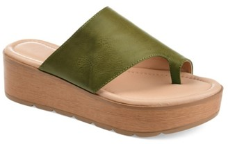 Journee Collection Arabel Wedge Sandal