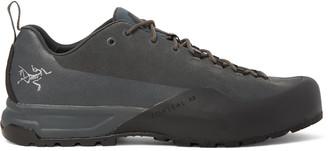 Arc'teryx Konseal Ar Rubber-trimmed Nubuck Hiking Sneakers - Gray