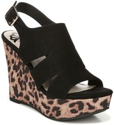 Fergalicious Valentina Cheetah Wedge Sandal