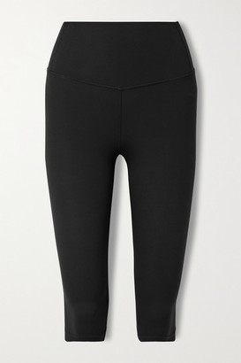 Splits59 Airweight Cropped Stretch Leggings - Black