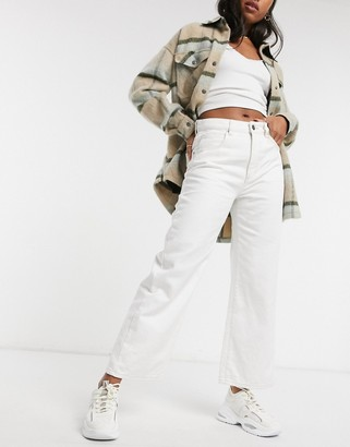Cotton On Cotton:On wide leg jean in white