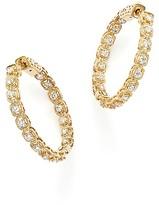 Bloomingdale's Diamond Inside Out Hoop Earrings in 14K Yellow Gold, 1.0 ct. t.w.